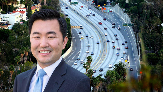 Councilmember David Ryu and the Cahuenga Pass