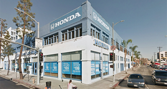 Honda Dealership Los Angeles County >> Honda Dealership Downtown L A Dtla Figueroa Corridor