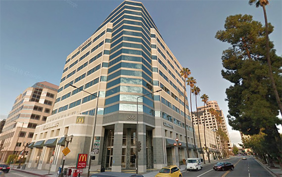 google los angeles office. The Office Building At 500 North Central Street (credit: Google Earth) Los Angeles L