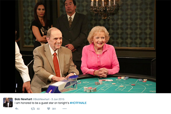 bob newhart betty white