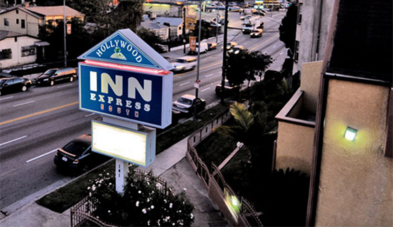 The Hollywood Express Inn South, owned by AJ Patel, who is planning another Westlake hotel