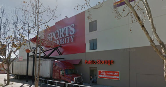 Sports Authority at 1919 South Sepulveda Boulevard (credit: Google Earth)