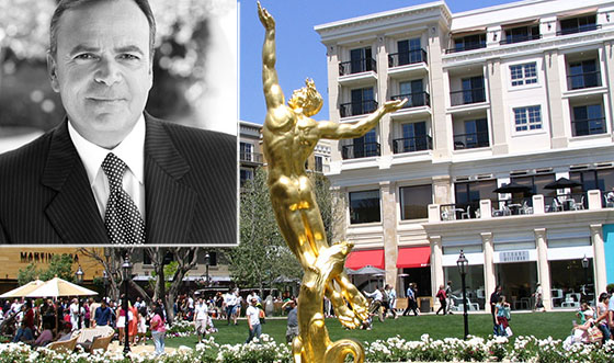 Developer Rick Caruso and the Americana at Brand in Glendale