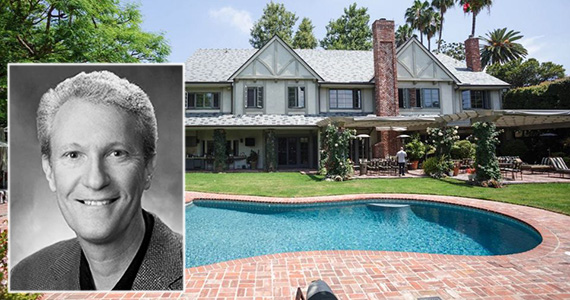 Chris McGurk and his Beverly Hills mansion at 807 North Crescent Drive