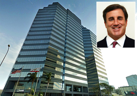12100 Wilshire and Douglas Emmett CEO Jordan Kaplan (credit: Stone Miller, Teen Cancer America)