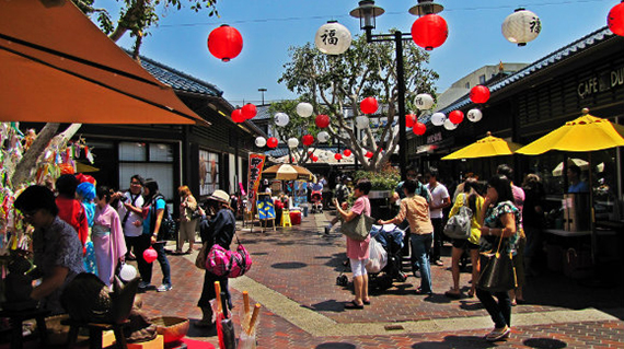 The Japanese Village Plaza at 335 East 2nd Street (credit: Tanama Tales)