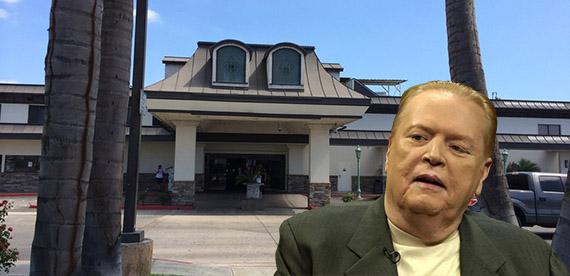 Larry Flynt and the Normandie Casino at 1045 West Rosecrans Avenue