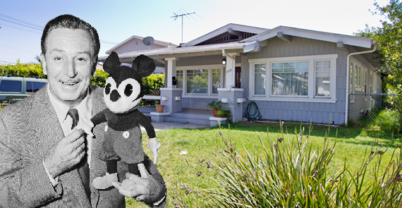 Walt Disney and the home at