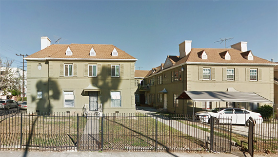 The property at 900 South Kenmore Avenue