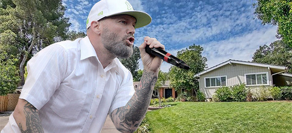 Fred Durst and his new home at