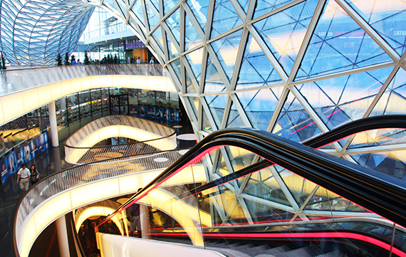 Inside the MyZeil