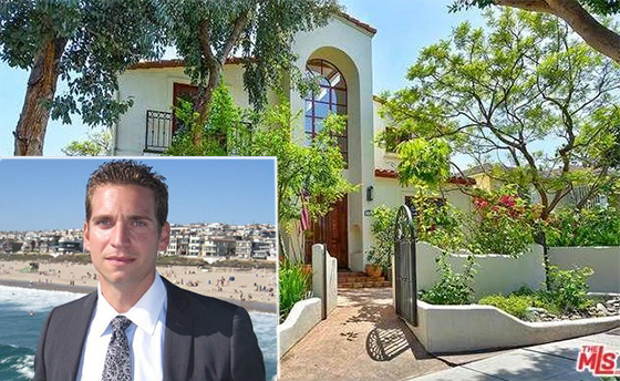 Raymond Lyon of Keller Williams and a house at 2004 Marine Street in Sant Monic that recently sold. Lyons was not on the deal. (Credit: MLS, Yelp)