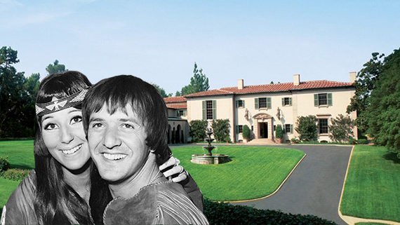 Sonny and Cher, and the Owlwood estate at 141 South Carolwood Drive