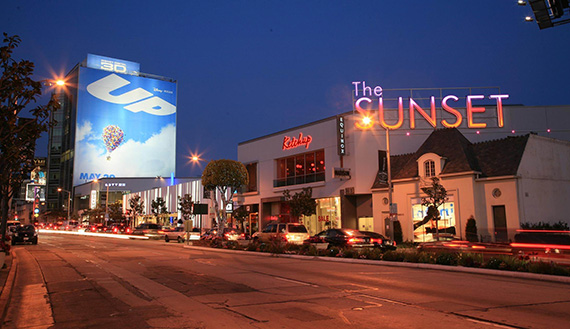 The Sunset at 8560-8590 Sunset Boulevard (Credit: LoopNet)