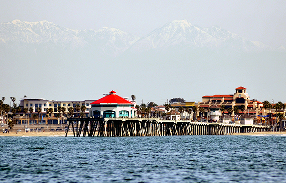 Huntington Beach is one of the most at risk areas for flooding