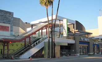 The retail center at 13450 West Maxella Avenue (Credit: West L.A. Estates)