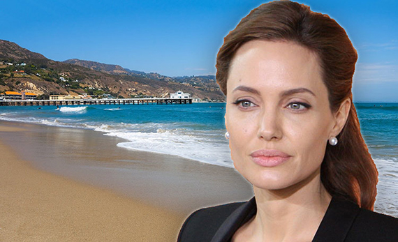Angelina Jolie is renting a home in Malibu (photo credit: Foreign and Commonwealth Office)