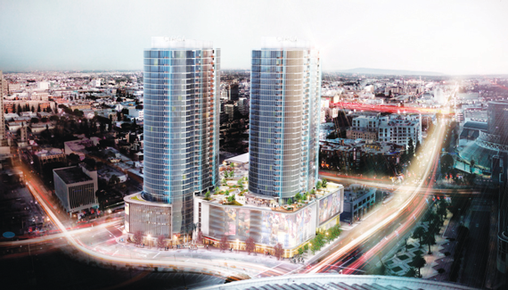 Circa, a 648-unit residential tower near the Staples Center, is slated to open in 2017.