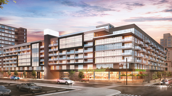 Eighth & Grand, a 700-unit condominium, will debut in the fall of 2016.
