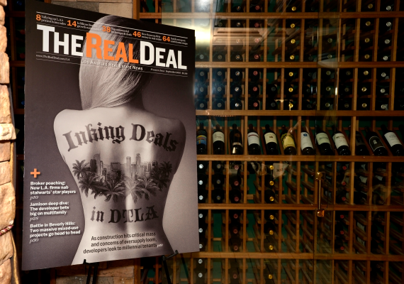 The Real Deal LA print issue