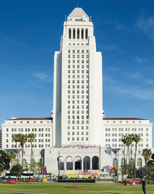 Martin's grandfather co-designed City Hall in 1928.