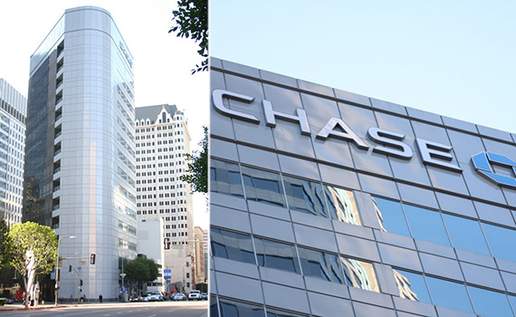 Chase Plaza at 888 West 6th Street (Credit: Somerset Group)