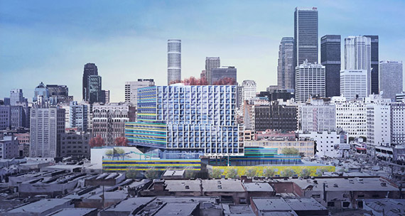 (Credit: Brooks + Scarpa, c/o L.A. Downtown News)
