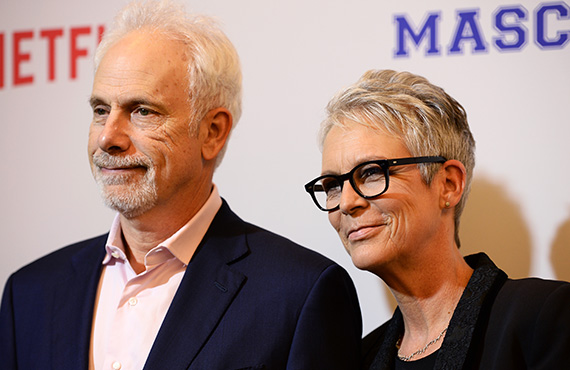 Jamie Lee Curtis and husband Christopher Guest (Credit: Getty)