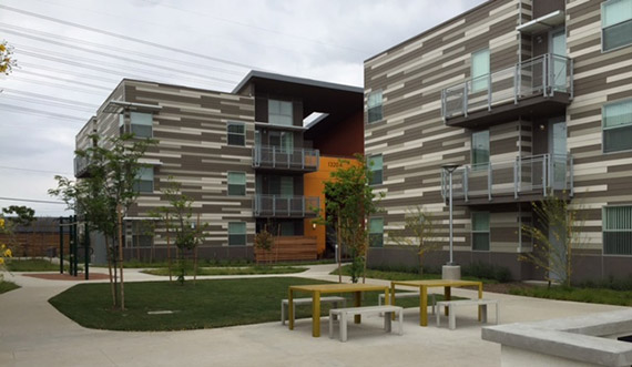 The Sage Park affordable apartments in Gardena (Credit: Archinect)