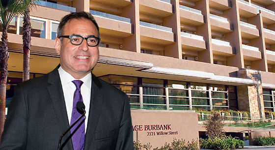 "The ""Vintage Burbank"" senior living center and Welltower CEO Tom DeRosa"