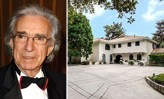 Arthur Hiller and his longtime home at