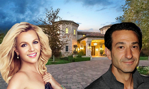 Britney Spears, David Broome, and the house at 25305 Prado De Los Suenos