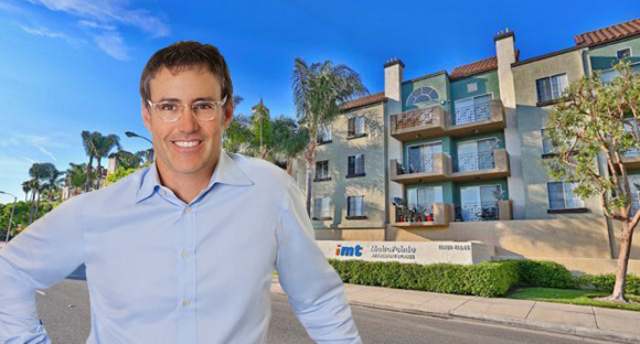 IMT Managing Director Michael Browne And The Apartments At 11615 Firestone Boulevard