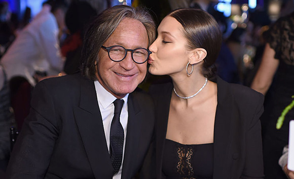 Photo of Bella Hadid  & her Father  Mohamed Hadid