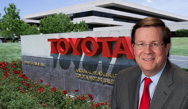 Toyota North America CEO James Lentz And The Torrance Headquarters Credit Getty Images