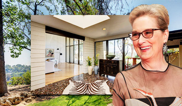 Meryl Streep And Her Home Credit Wikimedia Commons Sotheby S International Realty
