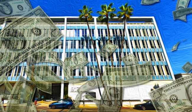 The Office Building At 9171 Wilshire Boulevard In Beverly Hills