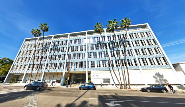 9171 Wilshire Which Was The Top Office Sale For April