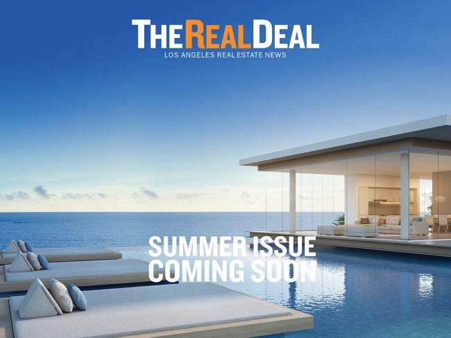 The 2018 Summer Issue Of The Real Deal LA Will Hit The Streets In Mid July.  Key Coverage In This Quarteru0027s Magazine Includes: