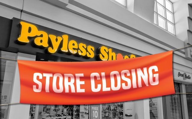 Payless Bankruptcy Retail Closures Sears