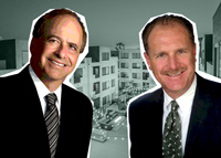 MG Properties CEO Mark Gleiberman and Sares-Regis Principal William Thormahlen
