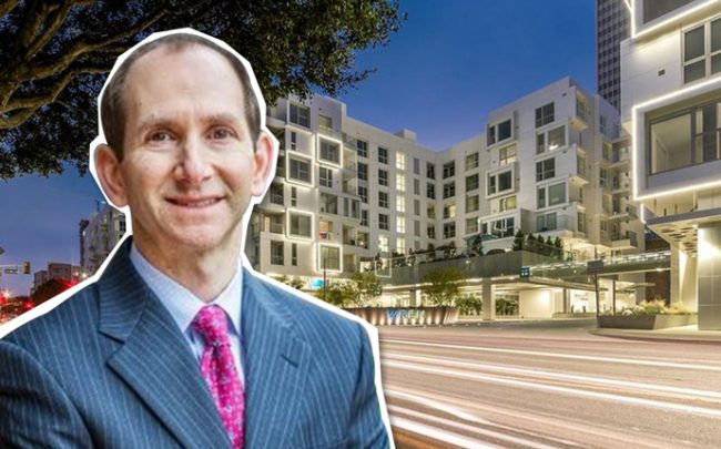 Lacera CIO Jonathan Grabel and the South Park apartment complex (Credit: LinkedIn and Realtor)
