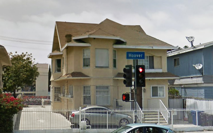 1157 S. Hoover Street (Credit: Google Maps)