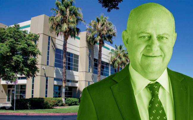 Prologis CEO Hamid Moghadam and 13048 Valley Boulevard