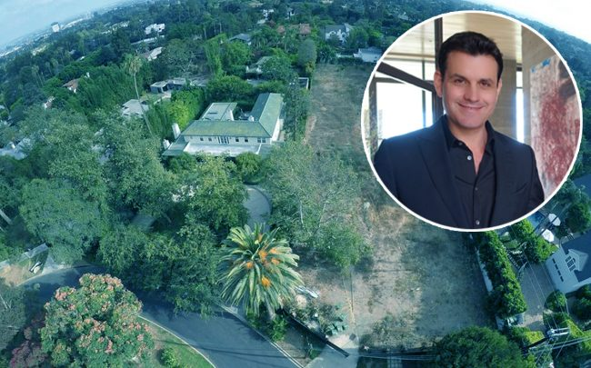 Kurt Rappaport and an aerial of the property on Highwood Street