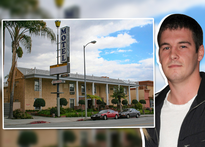 Dean McKillen and the Coral Sands Motel (Credit: Getty Images)