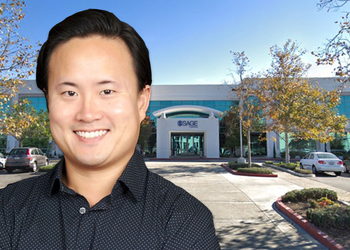Joon Choi, principal at Harbor Associates, and 2400 Conejo Spectrum Street (Credit: Google Maps)