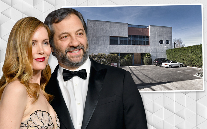 Leslie Mann, Judd Apatow, and 2257 Colby Avenue (Credit: Getty images and Google Maps)