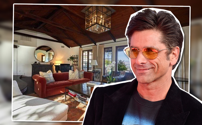 John Stamos and home on Bowmont Drive