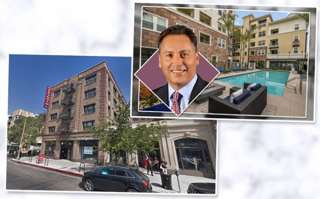The Gershwin Apartments and AvalonBay CEO Timothy Naughton and the complex